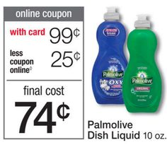 Walgreen's: Palmolive Dish Soap, Only $0.49, Starting 4/24! - http://wp.me/p56Eop-KAe
