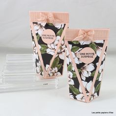Stampin Up, Box Patterns, Magnolias, Scrapbooking, Creations, Boxes, 3d, Coffee, Communion