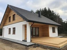 Steel Frame House, A Frame House, House Cladding, Facade House, Modern Contemporary Homes, Rustic Modern, Bungalow Renovation, House Elevation, Spanish House