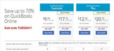 Save up to 70% Discount QuickBooks Online Essentials Coupon and Promo Codes   QuickBooks OnlineEssentials Price: $9.99/month, save $10. QuickBooks OnlineEssentials with payrollPrice: $17.70/month, save $41.29. It is your option to click the abovelink, after that the page will automatically turn to the right site where you can find the right product and then you can get it atmore cheaper price with Coupon Code.    http://ourcouponss.com/wp-content/uploads/2015/02