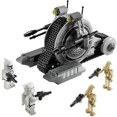 LEGO Star Wars: The Clone Wars Corporate Alliance Tank Droid (7748) LEGO Science Fiction & Fantasy LEGO,http://www.amazon.com/dp/B003HND194/ref=cm_sw_r_pi_dp_f5rPsb02BDPBJ16Z