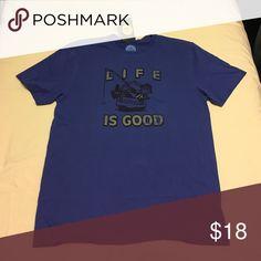 Men's medium short sleeve tshirt. Life is Good brand new medium men's tee Life is Good Shirts Tees - Short Sleeve