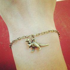 Dinky Dinosaur Charm Bracelet : £3.99 : Free UK delivery : http://www.lyliarose.com/ourshop/prod_3163528-Dinky-Dinosaur-Charm-Bracelet.html