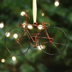 Wire Bike Ornament.