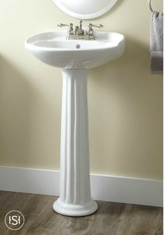 Awesome Small In Stature, But Big In Style, This Pedestal Sink Will Fit Perfectly In