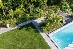 Garten mit natürlichem Swimming-Pool - Gartengestaltung –  Foto: Claudia Below
