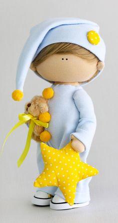 Doll Crafts, Diy Doll, Diy Rag Dolls, Sewing Dolls, Sewing Kit, Soft Dolls, Doll Tutorial, Child Doll, Fairy Dolls