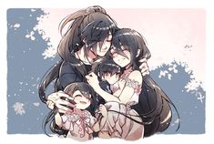 Anime Art Girl, Manga Art, Bleach Fanart, Familia Anime, Sad Art, Fanarts Anime, Animation, Anime Demon, Cute Anime Couples