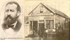 Bayley's Hotel (1857-1874) the first hotel in Victoria
