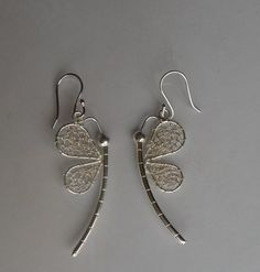 Dragonfly earrings by Peruvianqulqi on Etsy