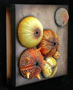 Tide Pool Wall Sculpture Andy Rogers: Ceramic Wall Art - Artful Home wonder if this could be made with paper mache Ceramic Wall Art, Ceramic Clay, Ceramic Pottery, Pottery Art, Wall Sculptures, Sculpture Art, Pottery Sculpture, Pop Art Bilder, Clay Tiles