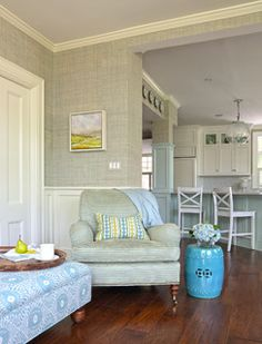 Seaside - traditional - living room - new york - by FISHER HART