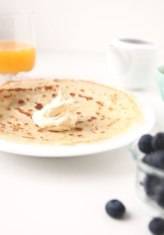 ORANGE HONEY MASCARPONE CREPES