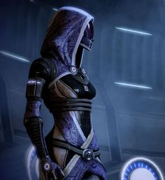 To be clear, Tali Zorah is not a black woman. Description from dangerbrain.wordpress.com. I searched for this on bing.com/images