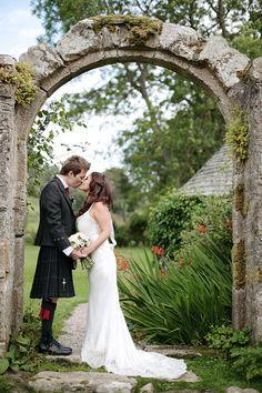 The arch at Aswanley.Image by Dasha Caffrey. Sister Wedding, Wedding Day, Barn Wedding Venue, Aberdeen, Couple Posing, Wedding Pictures, Photography Poses, Wedding Inspiration, Wedding Dresses