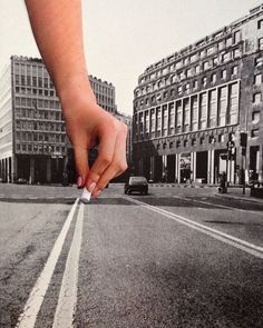 White lines... #photomontage by Deger Bakir More on flickr.com/degerbakircollage ... #Vision #dreams #of #passion #collage #collageart…