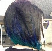 peacock hair highlights brunette - Bing Images
