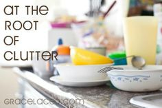 A good read - every Monday this blogger takes on a new subject. Clutter seems like mundane subject, but this points even out clutter back to Jesus. Lay it all at his feet.