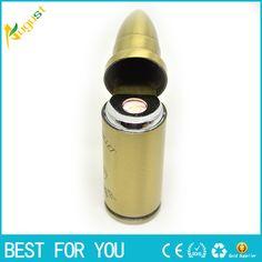 100pcs/lot Lighter usb charger new Pocket USB Powered Rechargeable bullet Lighter Flameless Electronic Cigarette Lighter