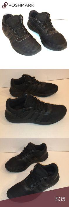 Spotted while shopping on Poshmark: Black Adidas CloudFoam Race Sneaker- S8! #poshmark #fashion #shopping #style #adidas #Shoes