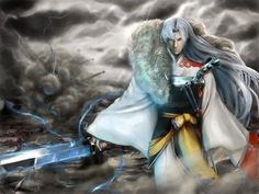 Lord Sesshomaru.  Beautiful <3