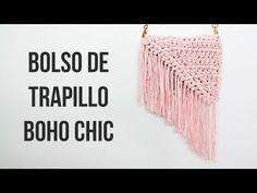 Bolso de trapillo Boho Chic - YouTube