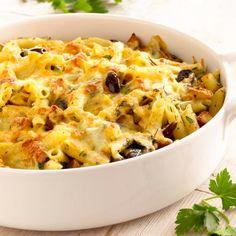 Italian Style Roast Potato & Pasta Bake