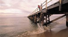 One Mile Jetty at Canarvon Western Australia, Westerns, North Western, Coast, Travel, Country, Viajes, Rural Area, Trips