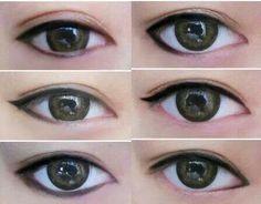 Resize eye with these eyeliner tricks