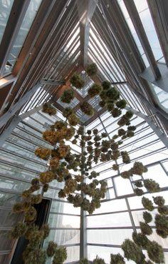 Interior das Torres Hejduk coa intervención realizada por Pamen Pereira para Inside