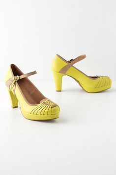 Yuzu Mary-Janes #anthropologie