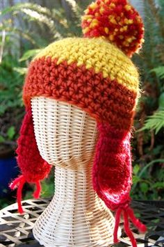 Free Crochet Jayne Cobb Hat Pattern.   Could be for a guy also.