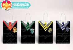 Print&Cut: Harry Potter BIRTHDAY boxes birthday party favors goody Goodie Gryffindor, Slytherin, Ravenclaw, Hufflepuff by Thingamaparty on Etsy https://www.etsy.com/listing/466174085/printcut-harry-potter-birthday-boxes
