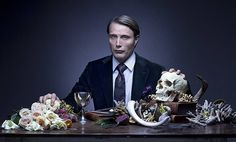 New teasers and spoilers for the upcoming third season of Hannibal, starring Mads Mikkelsen as Hannibal Lecter and Gillian Anderson as Bedelia Du Maurier. Hannibal Lecter, Hannibal Season 4, Hannibal Tv Series, Dr Hannibal, Hannibal Funny, Mads Mikkelsen, Ray Donovan, Norman Bates, Gillian Anderson