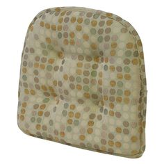 Have to have it. KlearVu Dotty Gripper® 16 x 15 in. Chairpad Cushion - $11.01 @hayneedle.com