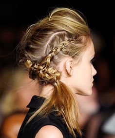 Runway Hair You'll Actually Want To Wear #refinery29 http://www.refinery29.com/2014/09/74304/best-hairstyles-fashion-week-spring-2015
