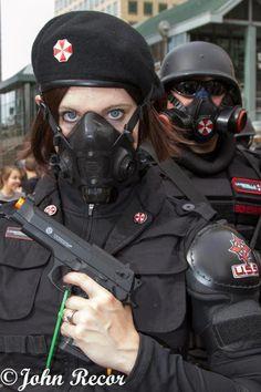 Denver Zombie Crawl 2012-  cosplay, Resident evil, Umbrella Corporation,