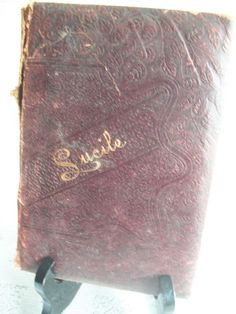 Lucile By Owen Meredith Circa 1880's Leather Bound