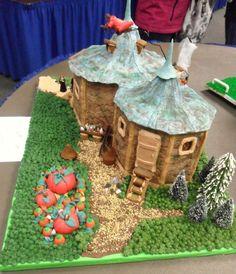 Hagrids hut gingerbread house!