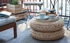 Easy, Affordable & Surprisingly Chic IKEA Hacks for Your Patio or Balcony