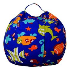 f02d69a136e0b Fad Frenzy Stuffed Animal Storage Bean Bag Chair Bean Bag Storage