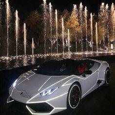 Super cars - Tron style Lamborghini