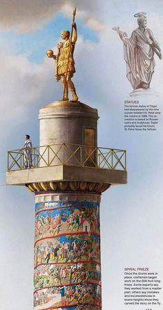 Roman Architecture, Sacred Architecture, Historical Architecture, Rome History, Ancient History, Art History, Roman Emperor, Roman Art, Ancient Artifacts