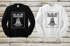 Fall out boy paramore Sweater Sweatshirt Crewneck Men or Women Unisex Size