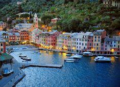 Portofino - Italy. Kind of reminds me of hon fleur, France