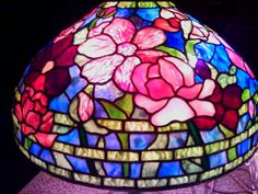 Tiffany lamp by my momma! she is AMAZING!