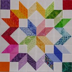 Quilting on the Crescent: Scrap Happy Saturday: The Fruits of Scrappiness Star Quilt Blocks, Star Quilt Patterns, Star Quilts, Mini Quilts, Boy Quilts, Scrappy Quilts, Colchas Quilting, Quilting Projects, Quilting Designs