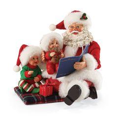 ef3ba4d873 Possible Dreams Clothtique Santas with Children