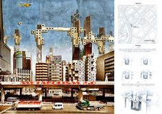the city above the city competition METABOLISM 2.0 designboom