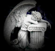 crying angel sculpture - Google Search